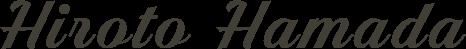 HIROTO HAMADA